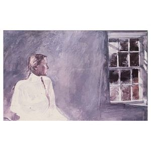 Framed Andrew Wyeth Painting